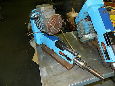 Suhner MONOmaster Automatic Drill Unit w/ 1 HP ABB AC Drive Motor, Used