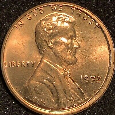 1972 Lincoln Cent Double Die Obverse Gorgeous Ms Ddo Gem *** A Rare Jewel *** $$