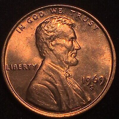 1969-S Lincoln Cent Double Die Obverse * Incredibly * Scarce Ms Gem * 69 S Ddo!!