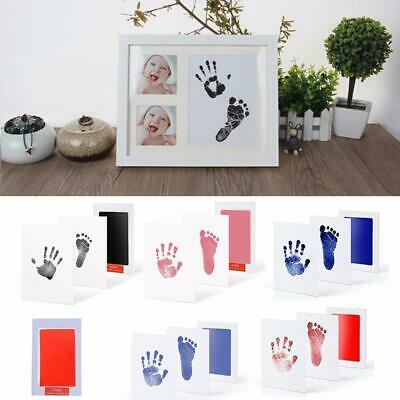 Non-Toxic Baby handprint/footprint kit - Available in 3 colours