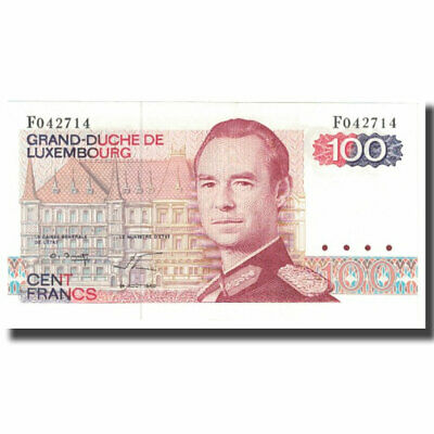 [#621633] Banknote, Luxembourg, 100 Francs, 1980, 1980-08-14, KM:57a, UNC(65-70)