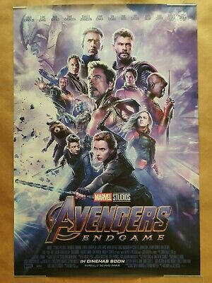 Avengers Endgame Original Movie Poster 27x40 One Sheet