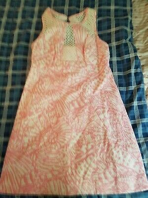 New Lilly Pulitzer Hubba Bubba Pink Kaylee Dress w/ lace 2 $198