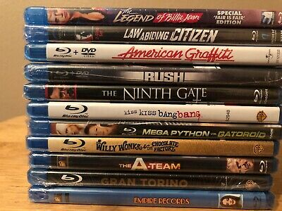 Blu-Ray Movie Lot Of 11 Action Horror Comedy Classics Action. Take A Look!