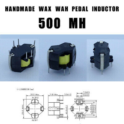 THE WHIPPLE HALO Wah Inductor Fits Most Pedals Handmade in