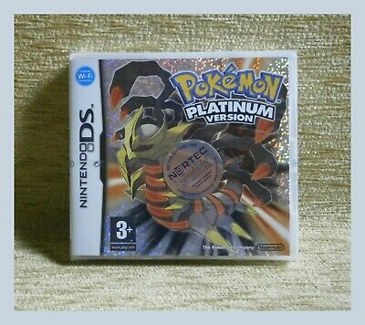 Nintendo Ds Pokemon Platinum Version Misb Made In Japan 2009