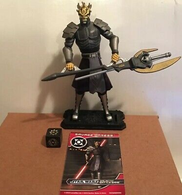 Star Wars The Clone Wars Darth Maul Returns SAVAGE OPRESS Hasbro Loose Complete