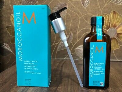 BEST PRICE Moroccanoil Moroccan Argan Oil Hair Treatment 100ml with FREE Pump