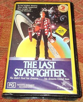 The Last Star Fighter - Rare BETAMAX Beta Video Tape Collectible