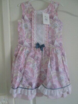 NEW  Girls ALBER Spanish Dress Absolutely Beautiful Size 11/12 Years