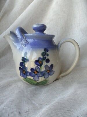 Vintage Pottery Tea Pot - Signature to the Base
