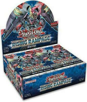Yugioh Rising Rampage 1st Edition Booster Box Factory Sealed Eng Ship July 26th