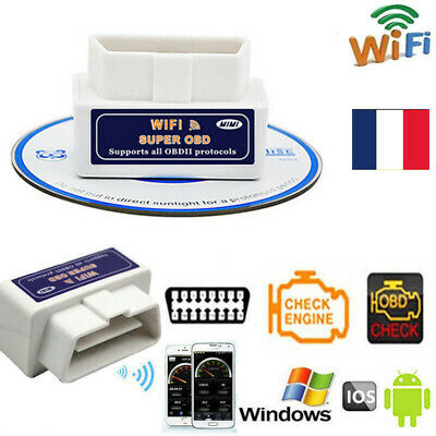 WIFI OBD2 OBDII voiture Car Diagnostic Scanner Scan Tool for iPhone iOS Android