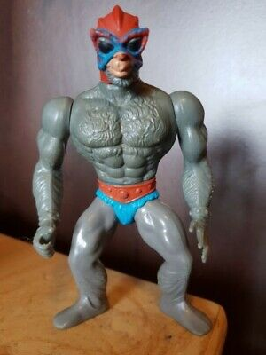 STRATOS Masters of the Universe Vintage Figure 1982 He Man Mattel 5 inch