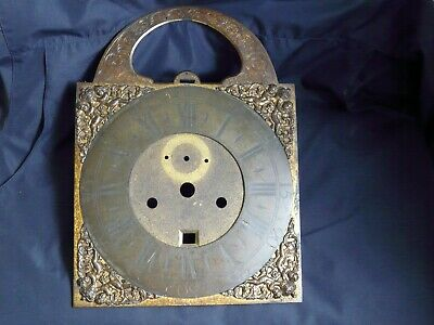 Antique Brass Longcase Grandfather Clock Face with Chapter Ring Spares