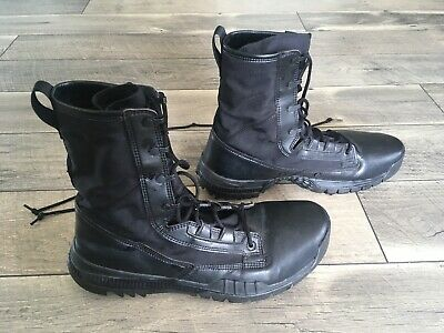 """Nike SFB Field 8"""" Boots Combat Military Police Tactical Blk Sz 13 {631371-090}"""