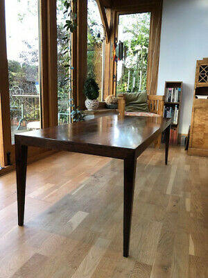 Danish Haslev Severin Hansen Rosewood Side Coffee Table 1960s vintage retro