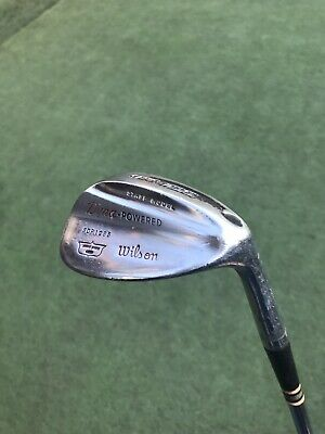 Amazing 1959 Wilson Pro-model Sand Wedge-All Original Components. Black Dot.