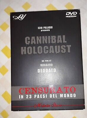 dvd cannibal holocaust by ruggero deodato edizione alan Young