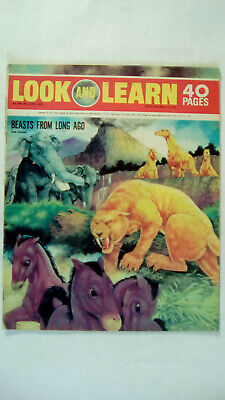 Look and Learn Vintage Magazine Number 438 June 6th 1970