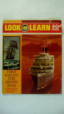 Look and Learn Vintage Magazine Number 430 April 11th 1970