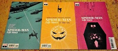 Spider-man Life Story #1 The '60s #2 The '70s & #3 the '80s - Marvel 2019 NEW