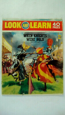 Look and Learn Vintage Magazine Number 449 August 22nd 1970