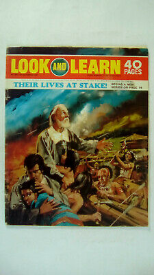 Look and Learn Vintage Magazine Number 465 December 12th 1970