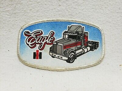 Vintage International Transtar Eagle Patch Semi Truck