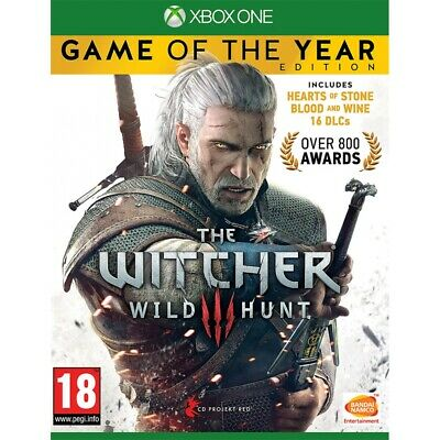 The Witcher 3 Wild Hunt Game Of The Year (GOTY) Xbox One