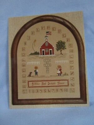 Eventide Designs Little Red School House Counted Cross Stitch Pattern