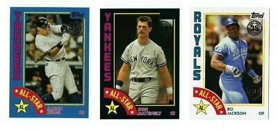 1984 Topps Blue Black /299 150th Stamp /150 Parallel 2019 Series 2 You Pick Set