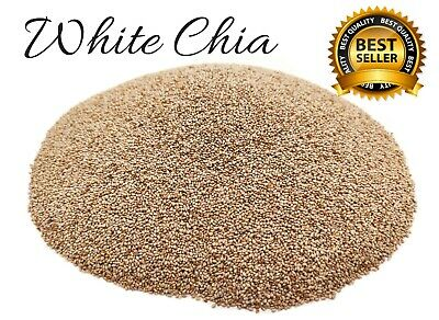 White Chia Seeds, Dessert, Detox, Weight Loss, Healthy Food, Organic, Superfood