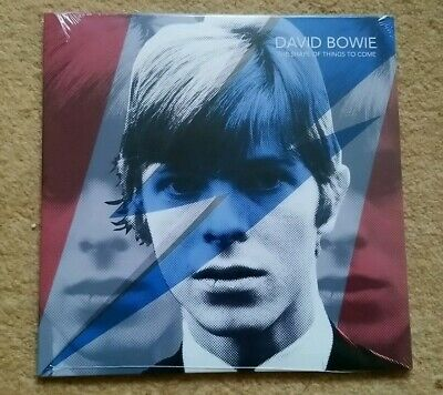 """David Bowie """"Shape Of Things To Come"""" Ltd Edition 7"""" Blue Vinyl - Numbered Ltd"""
