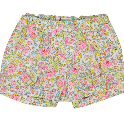 NEW BONPOINT Multicoloured Floral Shorts Age 12 months