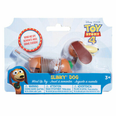 Disney Pixar Toy Story 4 Slinky Dog Wind Up Toy *BRAND NEW*