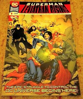 Superman Leviathan Rising #1 Oversized Special - Bendis Rucka Fraction DC 2019