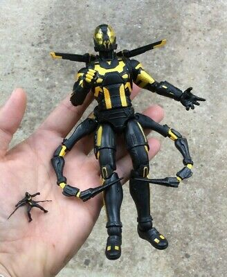 """Marvel Legends MCU YELLOWJACKET 6"""" Figure Loose Mint From Antman 10 Years 2 Pack"""