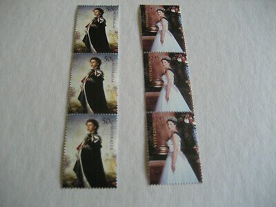 Australia 2006 Birthday Of Queen Elizabeth Ii Three Sets