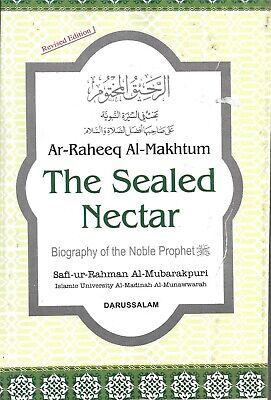 THE SEALED NECTAR, S.R. al-Mubarakpuri, Ar-Raheeqal-Makhrum, ENGLISH, PB, Medium