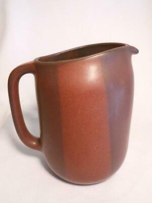 Awesome Vintage Heath Pottery Large Pitcher 2 Tones So Beautiful & Well Done