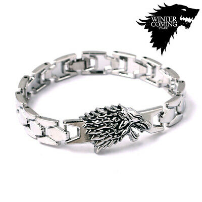Retro Game of Thrones Stark Wolf Stark Bracelet Bangles Song Ice Fire Collection