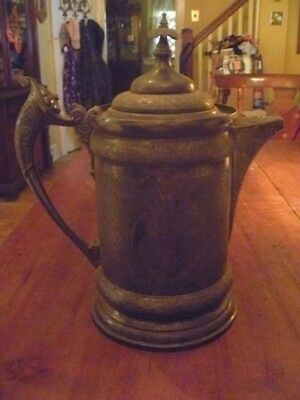 Vintage Middletown Plate Co. Base Metal Coffee Urn Or Pitcher