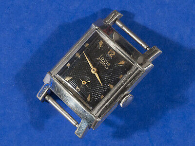 Vintage Art Deco Louis Watch Company 17 Jewel Swiss Movement