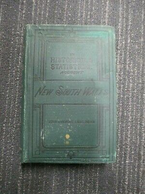 HISTORICAL AND STATISTICAL ACCOUNT OF NEW SOUTH WALES John Lang Vol.II 1875 H678