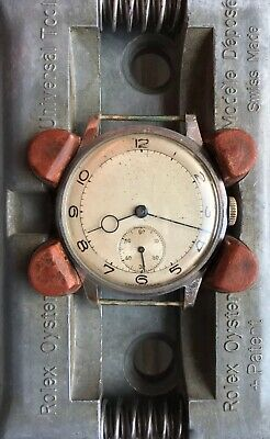 Vintage Swiss Art Deco Watch WW2 German Military?