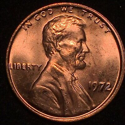1972 Ddo Double Die Obverse Lincoln Cent Museum Piece!  * A Beauty! Ms Bu +++ #1