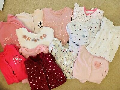 12 Babygrows First Size