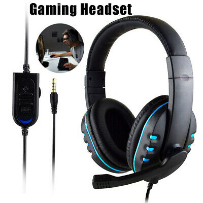 HOT 3.5mm Gaming Headset MIC Headphones for PC Laptop PS4 Xbox One X S Switch