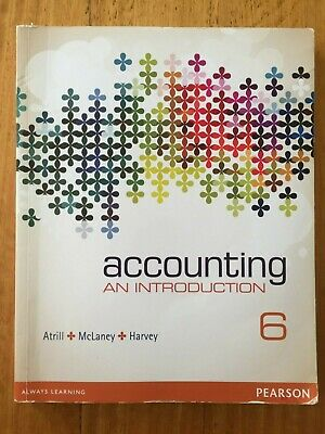 Accounting: An Introduction - 6th edition - Atrill, McLaney, Harvey - FREE SHIP